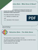 Retention Calc