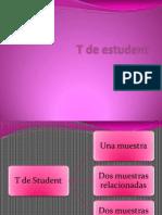 T de Estudent