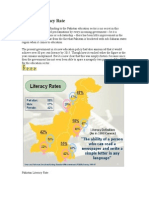 Pakistan Literacy Rate.doc