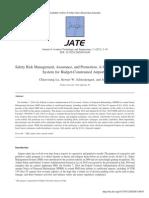 Safety Risk Management Assurance and Promotion