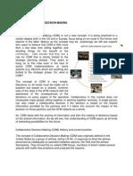 CDM- Assignment data