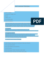 Tips Membuat Surat Lamaran Pekerjaan