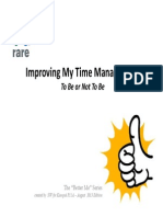 Improving My Time Management