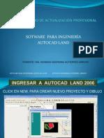 Manual Autocad 3d Land 2009
