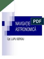 Navigatie Astronomica