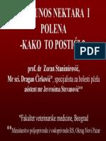 Veci Prinosi Nektara i Polena