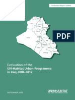 Evaluation of the UN-Habitat Urban Programme in Iraq