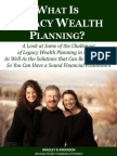 What Is Legacy Wealth Planning?