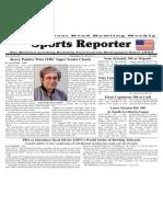 November 13 - 19, 2013 Sports Reporter