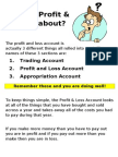 What is Profit & Loss all about