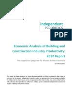 Economic Analysis of Industry Productivity.pdf