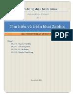 Tìm hiểu và triển khai Zabbix