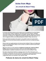 Black Friday 2013  - Paltoane dama online la reducere