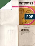 Manual Matematica Geometrie Cls a 8-A Editura Didactica Si Pedagogica