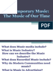 Contemporary Music (Advertising).ppt