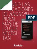 Permisos aplicaciones Android. Seguridad