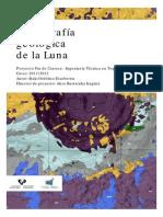 Cartografia Geologica Luna