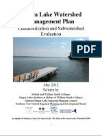 Seneca Lake Watershed Management Plan Characterization and Subwatershed Evaluation