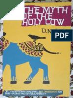 Jha D. N., The Myth of the Holy Cow, 2009