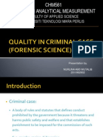 QUALITY IN CRIMINAL CASE (FORENSIC SCIENCE).pptx