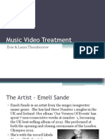 Music Video Treatment.ppt