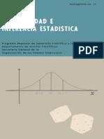 PROBABILIDAD E INFERENCIA ESTADÍSTICA (LUIS A. SANTALÓ)