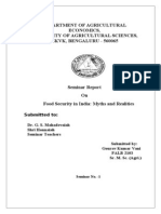 Gourav - Seminar report on Food Security in India_Myths and Realities - with PSSM edit (2).doc