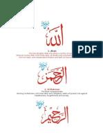 beautiful names of allah.doc