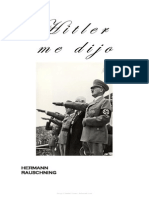 Hermann Rauschning Hitler Me Dijo