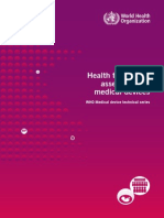 Assessment - Health Techonogy Assessment of Medical Devices