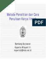 Metode Penelitian dan Cara Penulisan Karya ilmiah.pdf