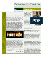 FCC Newsletter August 09