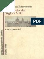 La Novela Del Siglo Xviii 0 BVC J.alvarez Barrientos