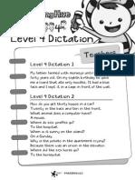 Spelling Level4 Dictation