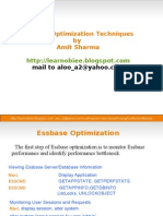 Essbase Optimization