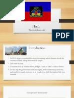 haiti research presentation