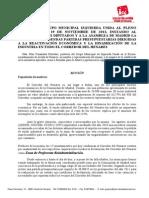 Moción de IU relativa a la dinamización económica y la reactivación industrial en el Corredor del Henares