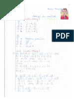 Corrige 1 Maths Seconde