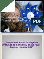 Cooperarea regională – esență și caracteristici