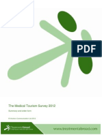 TA Medical Tourism Survey~Mmary and Order Form