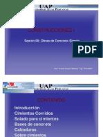 Sesion 6 - Concreto Simple