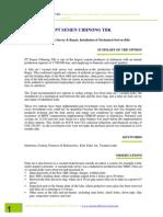 PT Semen Cibinong - False Air Leak Survey and Repair