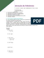 21 - Fatoracao de Polinomios (1)