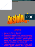 1. Arti Sosiologi