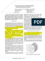Design and Construction of a Permanent Magnet Axial Flux Synchronous Generator (For micro generation system).pdf