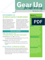 gear up for safe driving- the drivers mind