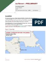 Typhoon Haiyan weather data from iCyclone