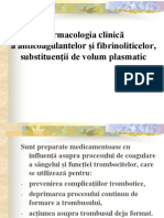 Anticoagulante Fibrinolitice Anul v 2013 (1)