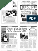 Versión impresa del periódico El mexiquense 13noviembre 2013