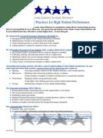 ccsd non-negotiable practices rev071911